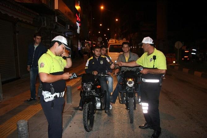 Ramazan'da Motosiklet Uygulamaları Sürüyor