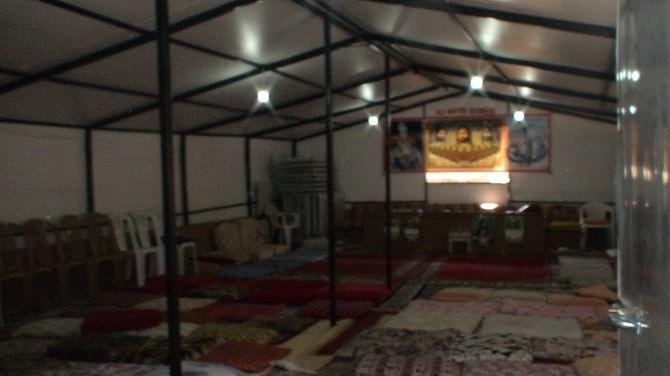 Malatya'da Çadırdan Cemevi Yapıldı