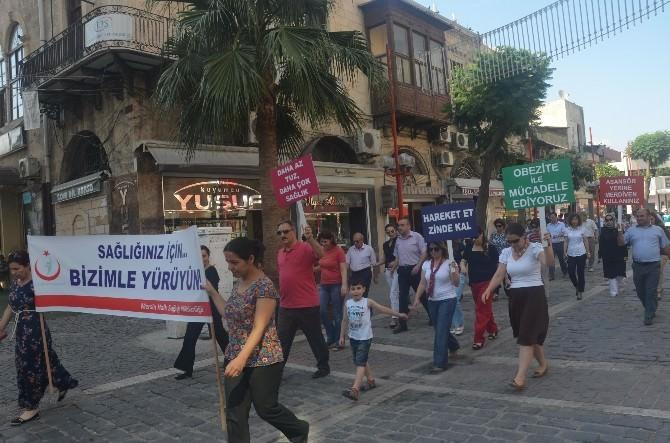 Halk Sağlığı Ve Sağlık Müdürlüğü Çalışanları Ramazan'da Da Yürüdü