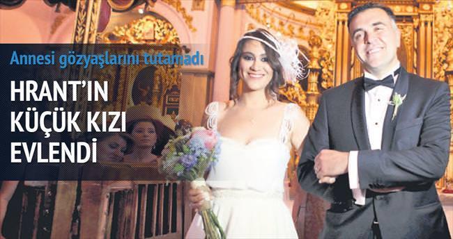 Hrant'ın küçük kızı Sera evlendi