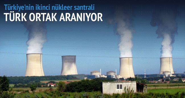 Sinop santrali için 2 Türk ortak aranıyor