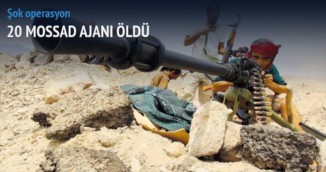 20 Mossad ajanı öldü