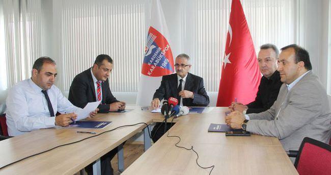 Karabükspor'da hedef yeniden Süper Lig