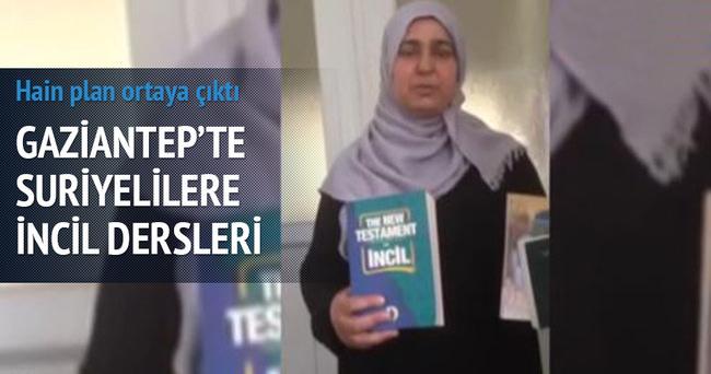 Gaziantep'te Suriyelilere İncil dersleri!