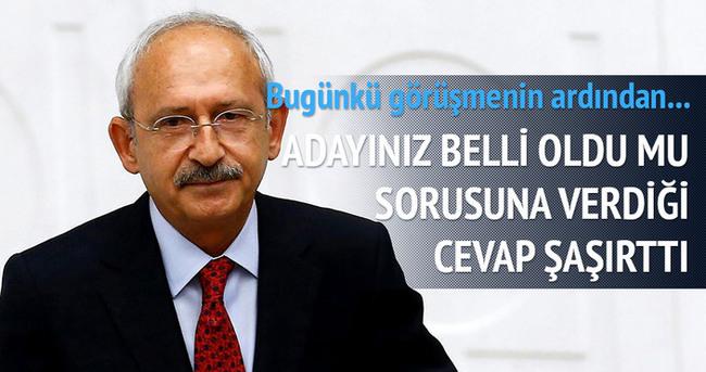 Kılıçdaroğlu: Yarına daha çok vaktimiz var