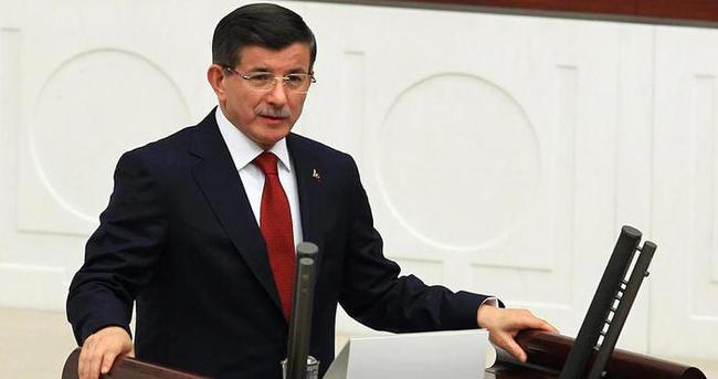 Davutoğlu gece 22.30'da yemin etti