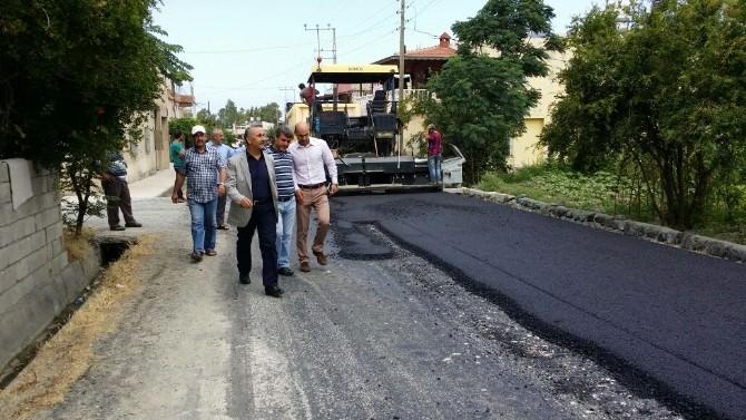 Arsuz'da Asfalt Ve Parke Taşı Döşeme Çalışmaları