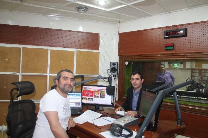 ASP İl Müdürü Abdulhakimoğulları, TRT Erzurum Radyosuna Konuk Oldu