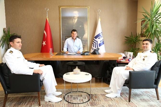 Komutanlardan Başkan Kocadon'a Ziyaret
