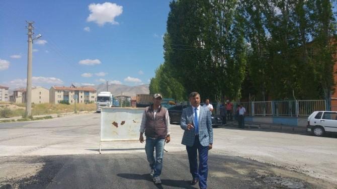 Belediye Başkanı Akdoğan Belediye Yatırımlarını İnceledi