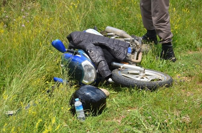 Bilecik'te Motosiklet Kazası, 1 Kişi Yaralandı