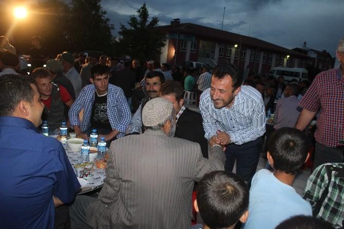 Başkan Oğuz İftarda Vatandaşlarla Buluştu