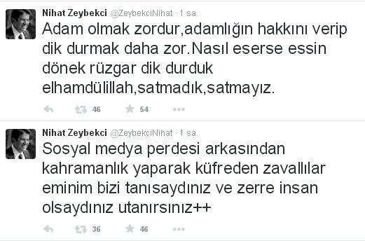 Bakan Zeybekci'den 'Rıza Sarraf' Tepkisi