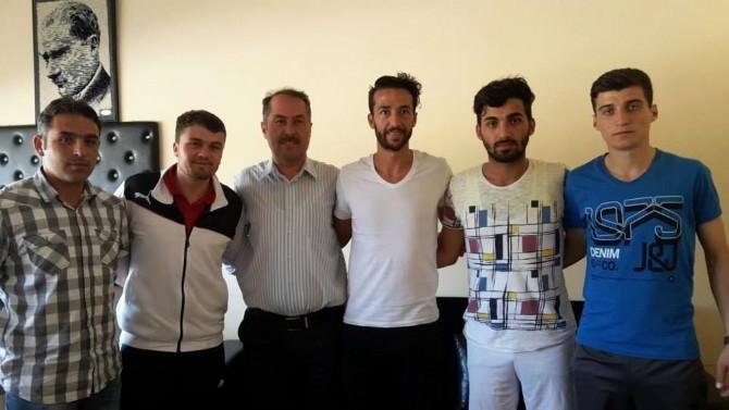 Galatasaray'ın Yeni Transferi Bilal Kısa, Sorgun Gençlik Hizmetleri Müdürlüğünü Ziyaret Etti