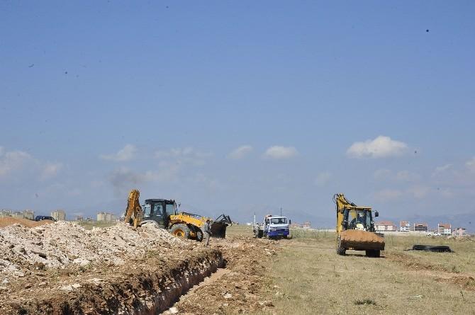 Karaman'da İşçi Konutlarında Çalışmalar Başladı