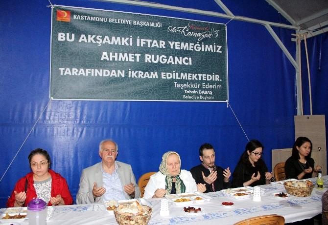 Kastamonu Belediyesi, 2 Bin Kişiye İftar Verdi