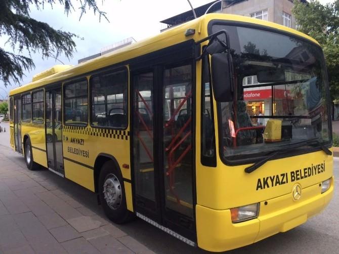 Yeni Otobüs Akyazılıların Hizmetine Sunuldu