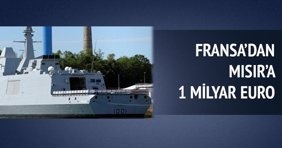FRANSA'DAN MISIR'A 1 MİLYAR EUROLUK FIRKATEYN
