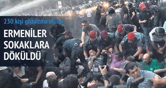 Ermenistan'da %16 zam ayaklanması