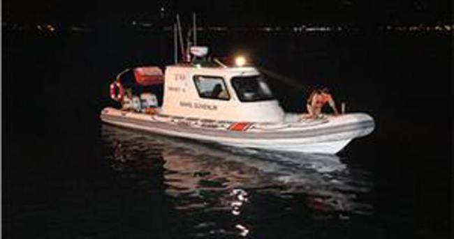 Sarıyer'de denize atlayan kişi kayboldu