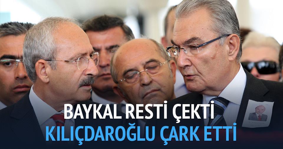 Baykal resti çekti, Kılıçdaroğlu çark etti