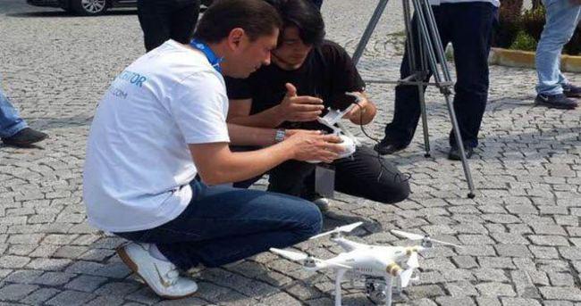 Yıldız Üniversitesi'nde drone eğitimi