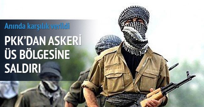 Siirt'te üs bölgesine silahlı saldırı!