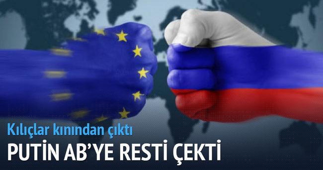 Rusya'dan Batı'ya misilleme