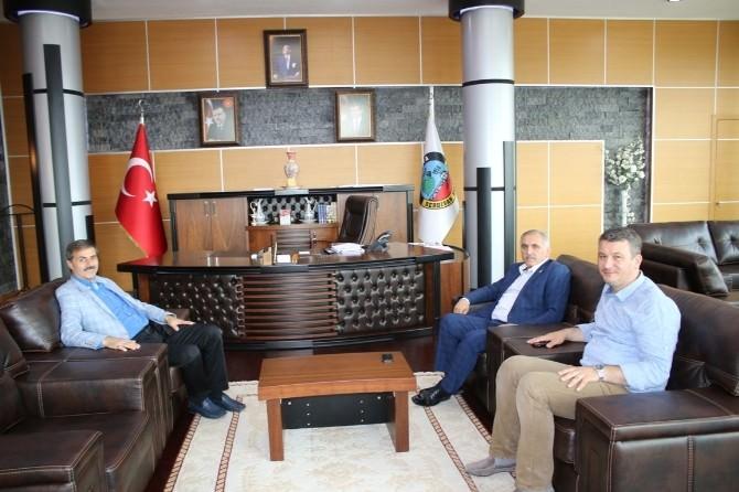 Milletvekili İnci'den Başkan Yusuf Alemdar'a Teşekkür Ziyareti