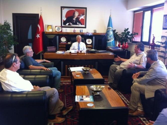 BAÜ, Edremit'te Havacılık Yüksek Okulu İçin Düğmeye Bastı