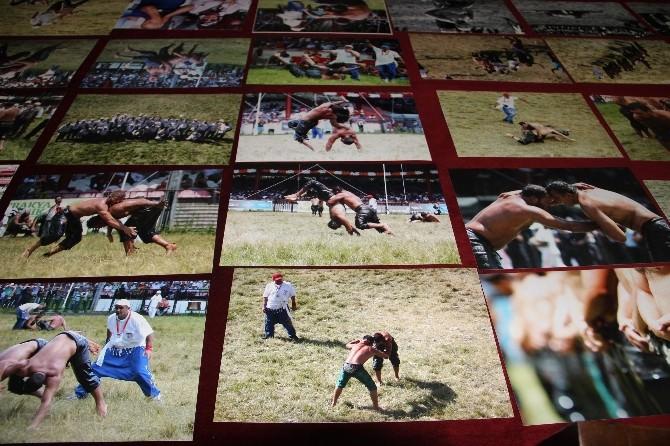 Gazetecilerin 'Kırkpınar' Fotoğrafları Yarışıyor