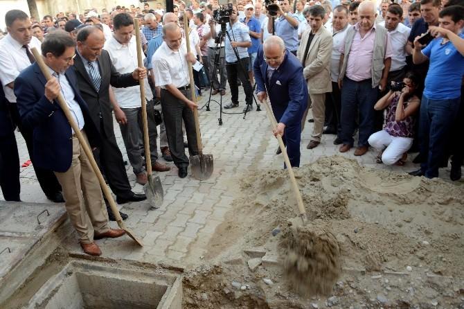 Bozyazı Kanalizasyon Şebekesinin Büyük Bölümü Tamamlandı