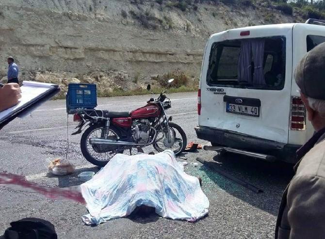 Erdemli'de Trafik Kazası: 1 Ölü