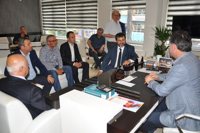 MHP Karabük Milletvekili Yalçın'dan AK Parti'ye Ziyaret