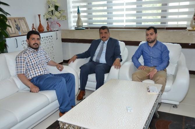Sivil Toplum Kuruluşları, Başkan Gürkan'ı Ziyaret Etti