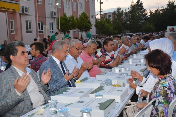 Osmaniye Belediyesi'nin Mahalle İftarları Başladı