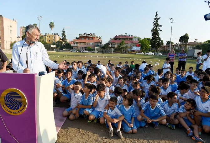 Seyhan Belediyesi Emek Yaz Spor Okulu Açıldı