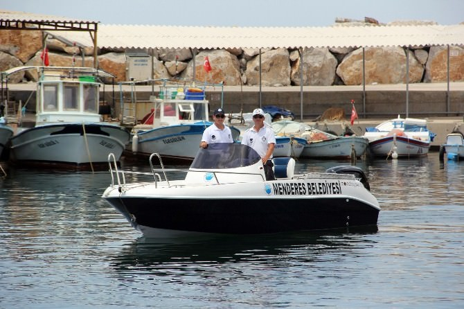 Zabıtalar Denize Girerek İşbaşı Yapacak