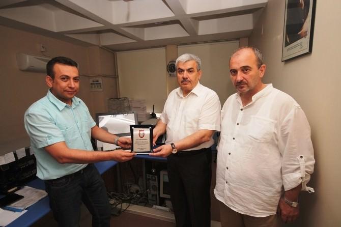 Bursa'da Çalınan Ticari Taksi Manisa'da Yakalandı