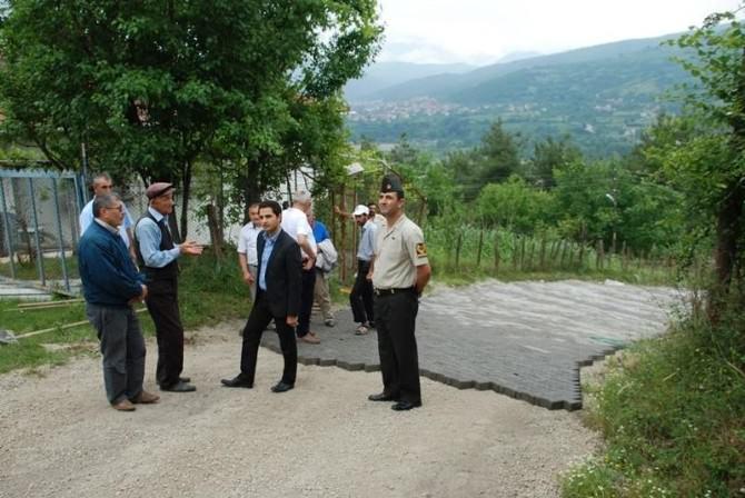 Kaymakam Köy Yollarını İnceledi