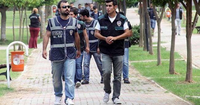 Adana'da narkotik devriyesi