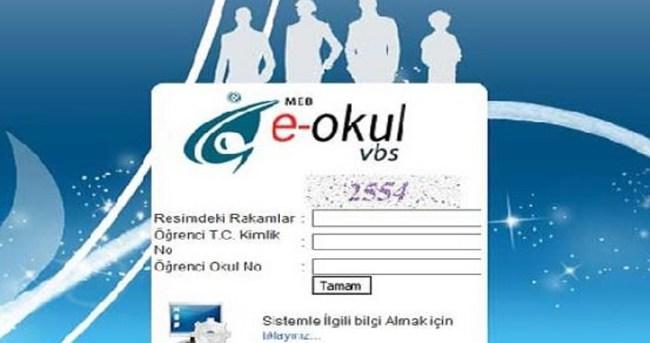 Online E-Okul Veli Bilgilendirme Ve E-Okul Yönetim Bilgi Sistemine Giriş Ve Karne Bilgileri