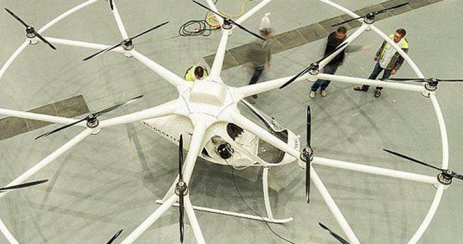 Geleceğin toplu taşıma aracı Volocopter