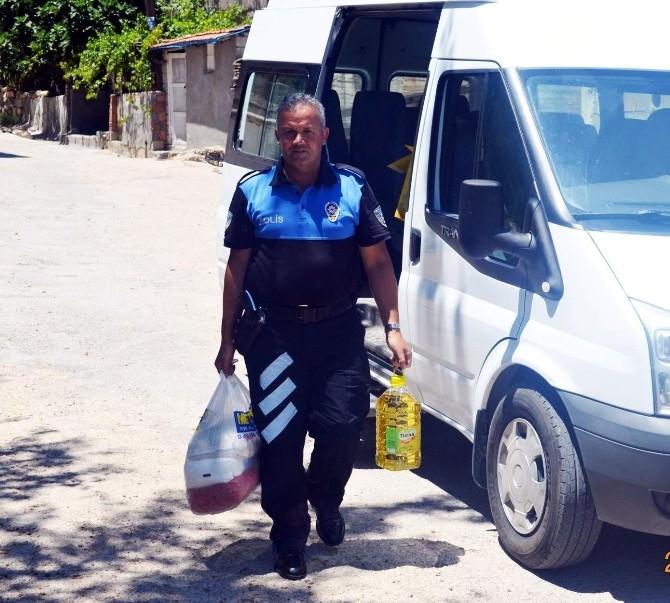 Besni Emniyet Müdürlüğü'nden Ramazan Yardımı