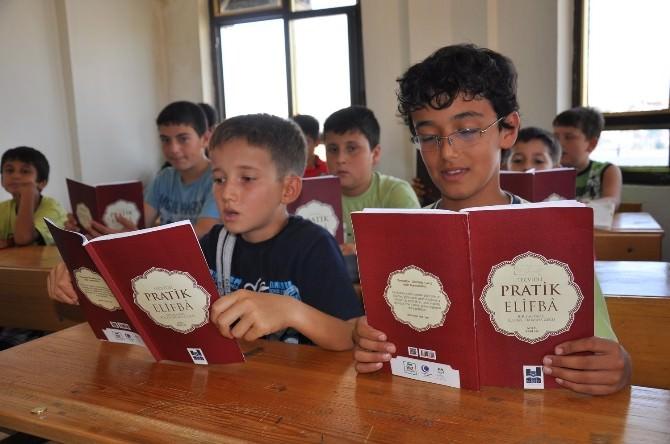 Manavgat'ta Anadolu Gençlik Yaz Kursu Düzenleniyor