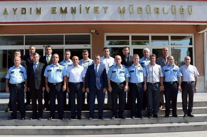 Aydın'ın Başarılı Polisleri Ödüllendirildi