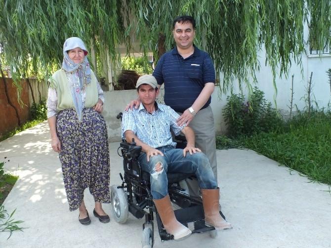 Başkan Kılınç, Engellileri Sevindirmeye Devam Ediyor