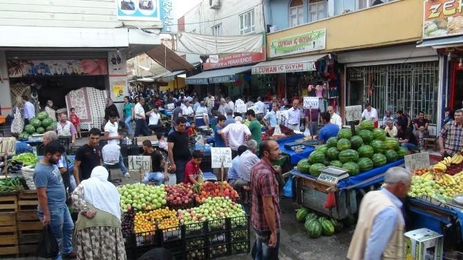 Batman'da Yerli Sebze-meyve Satışı Arttı