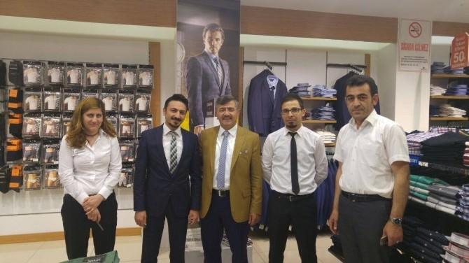 Niğde Belediye Başkanı Akdoğan Esnaf Ziyaretini Sürdürüyor