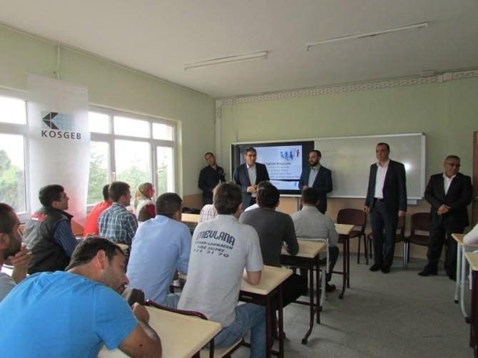 Çamardı'nda Girişimcilik Kursu Açıldı